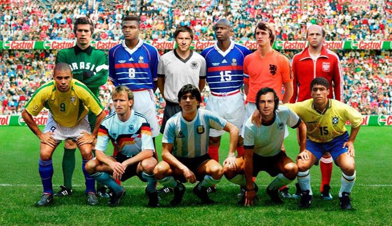TOP 11 những huyền thoại bóng đá thế giới vĩ đại nhất lịch sử