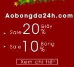 Siêu quà tặng chúc mừng năm mới 2018 từ Aobongda24h.com