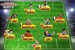 Đội hình các ngôi sao bị bỏ rơi tại World Cup 2018