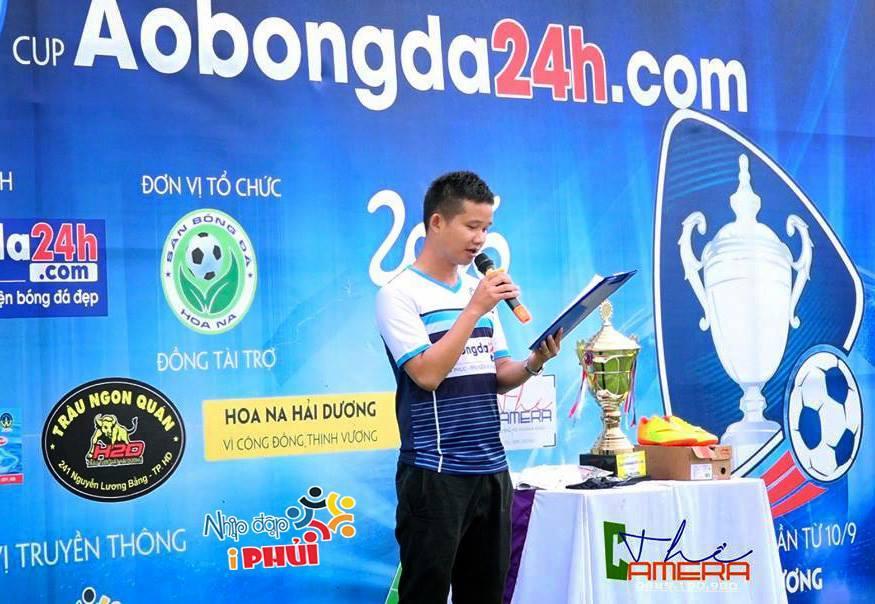 Cúp Aobongda24h.com tại Hải Dương