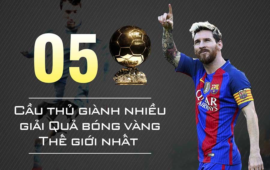 Bật mí độ tuổi thật của Messi cùng những thành tích anh đạt được