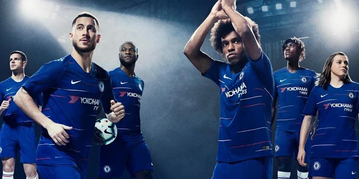 Bộ đồ áo đấu Chelsea 2018-2019 đã được tiết lộ.