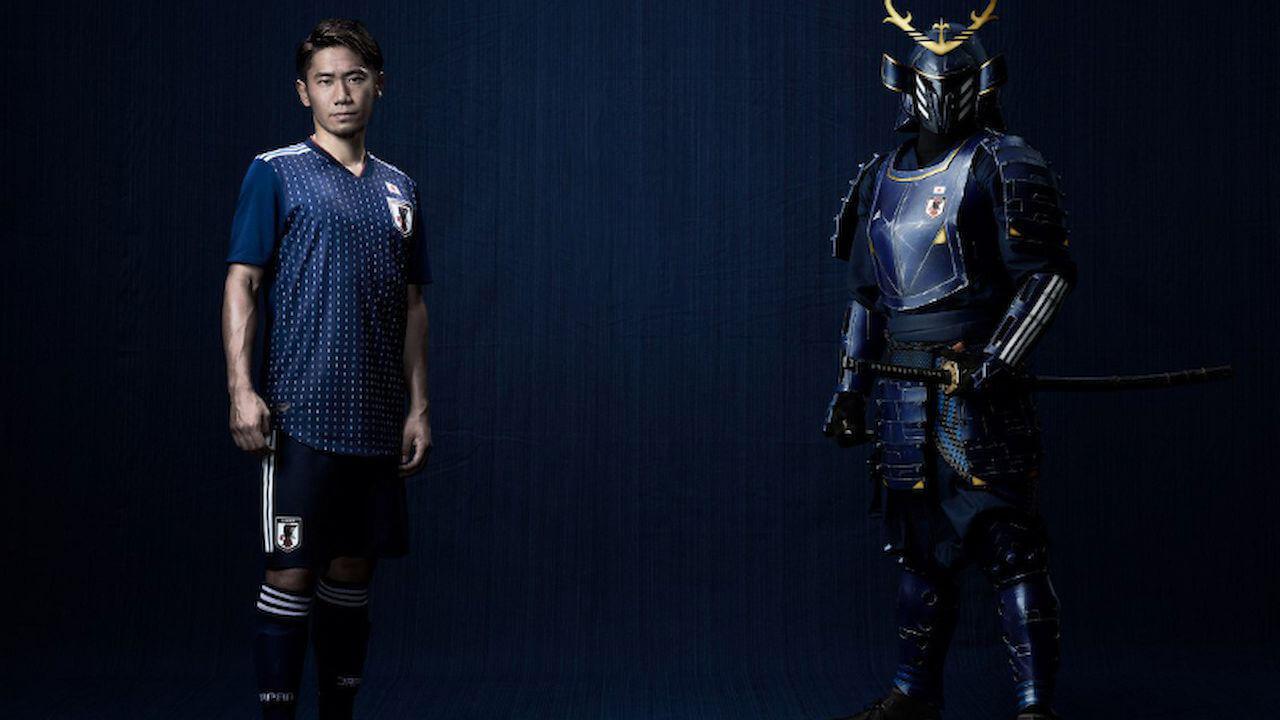 Áo đấu Nhật Bản World Cup – khi tone màu trầm lên ngôi