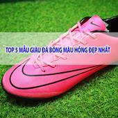 Tổng hợp những mẫu giày đá bóng màu hồng đẹp nhất 2019