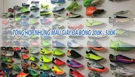 Tổng hợp những mẫu giày đá bóng 200k - 500k đẹp nhất