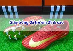 Hướng dẫn cách chọn giày bóng đá trẻ em đinh cao tốt nhất
