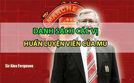 Lịch sử các vị huấn luyện viên của Manchester United