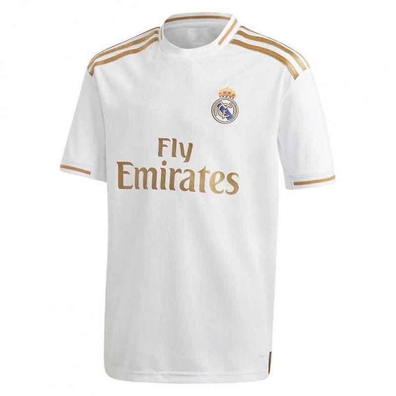 mẫu áo đấu Real 2020