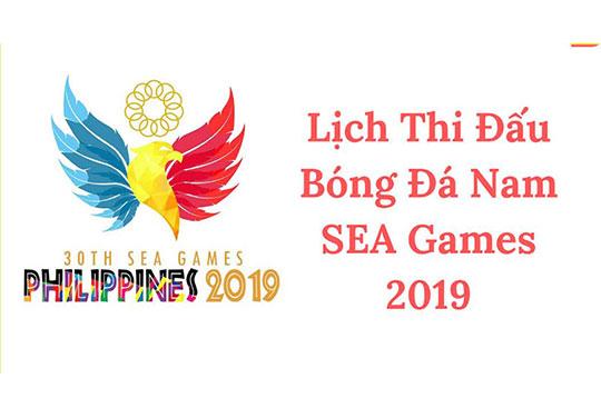 Công bố lịch thi đấu seagame 30 môn bóng đá nam