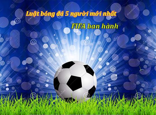 Luật bóng đá 5 người mới nhất theo tiêu chuẩn FiFA