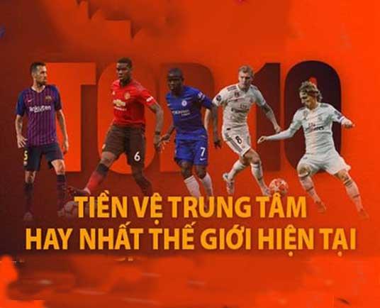 TOP 10 tiền vệ trung tâm hay nhất thế giới mọi thời đại