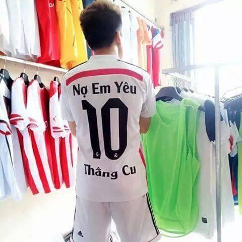 Bộ sưu tập tên áo bóng đá bựa nhất Việt Nam - Aobongda24h.com