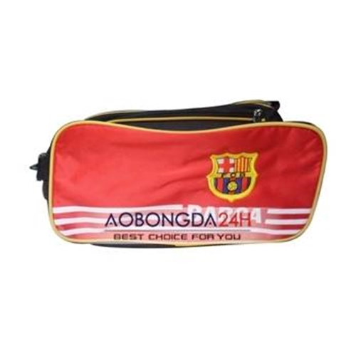 Túi đựng đồ đá bóng câu lạc bộ Barcelona đỏ