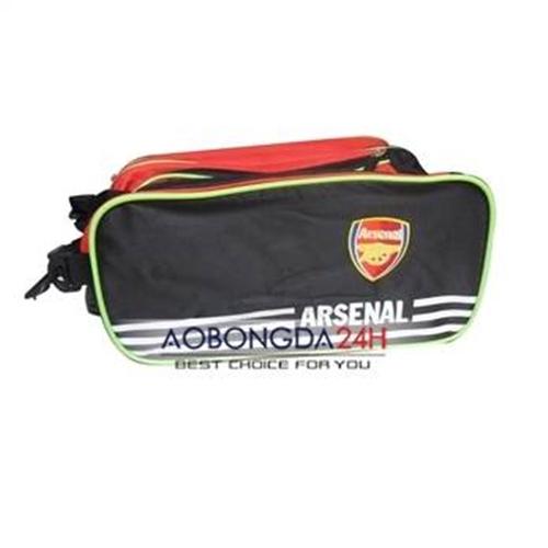 Túi bóng đá 2 ngăn câu lạc bộ Arsenal đen