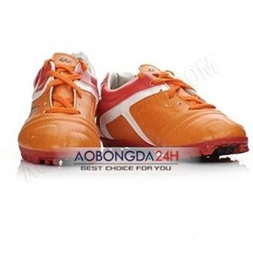 Giày đá bóng sân cỏ nhân tạo màu cam