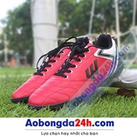 Giày bóng đá sân cỏ nhân tạo Prowin FX màu đỏ