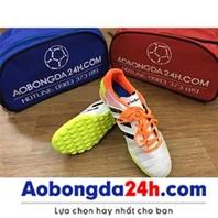 Giày đá bóng Prowin 3 sọc màu trắng
