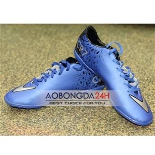 Giày đá bóng CR7 xanh ngọc