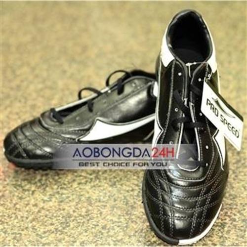 Giầy bóng đá Pro speed màu đen