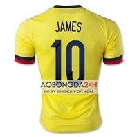 Mẫu in áo đá bóng Đội tuyển Colombia