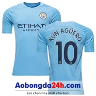 Mẫu in áo bóng đá Manchester City