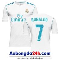 Mẫu in áo bóng đá Real Madrid