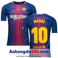 Mẫu in áo bóng đá Barcelona