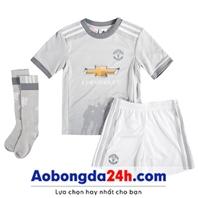 Quần áo thể thao trẻ em Mu 2018 Mẫu thứ 3