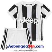 Quần áo thể thao trẻ em Juventus 2018 sân nhà