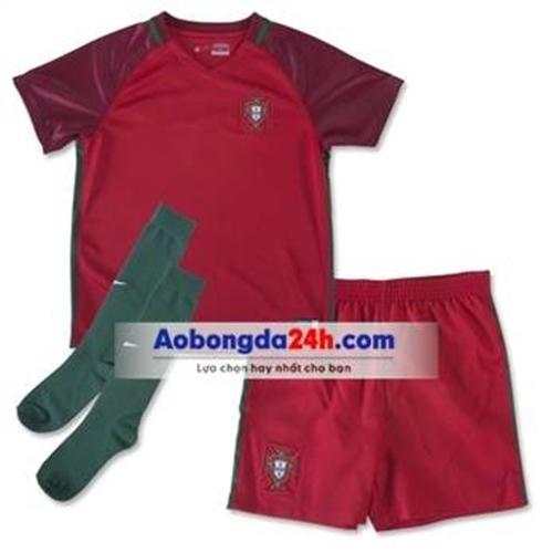 Đồ thể ao trẻ em đội tuyển Bồ Đào Nha 2014 sân nhà