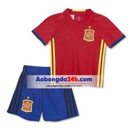 Quần áo thể thao trẻ em đội tuyển Tây Ban Nha 2017 sân nhà