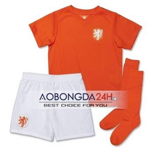 Quần áo thể thao trẻ em đội tuyển Hà Lan 2018 sân nhà