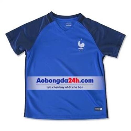 Đồ thể ao trẻ em đội tuyển Pháp 2017 sân nhà