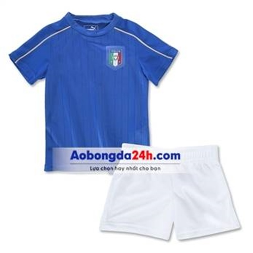 Đồ thể ao trẻ em đội tuyển Ý 2017 sân nhà