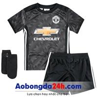 Quần áo bóng đá trẻ em Mu 2018 sân khách