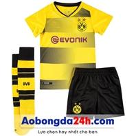 Quần áo bóng đá trẻ em Dortmund 2018 sân nhà