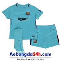 Đồ thể thao trẻ em Barcelona 2018 sân khách