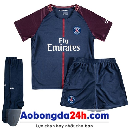 Đồ thể thao trẻ em Paris Sain Germain 2018 sân nhà