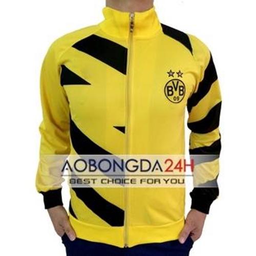 Áo Khoác thể thao Dortmund 2014 - 2015 Vàng (Mẫu 01)