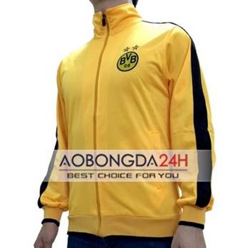 Áo Khoác thể thao Dortmund 2014 - 2015 Vàng (Mẫu 02)