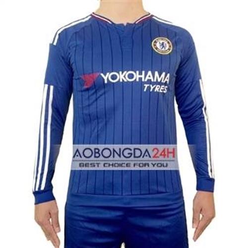 Áo bóng đá dài tay Chelsea 2015-2016 Sân nhà