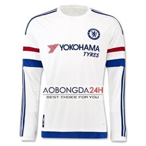 Áo đá bóng dài tay Chelsea 2015-2016 Sân khách