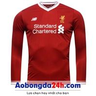 Áo bóng đá Liverpool dài tay 2018 đỏ Sân nhà