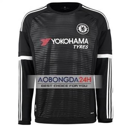 Áo dài tay Chelsea 2015-2016 Sân khách (Mẫu 02)