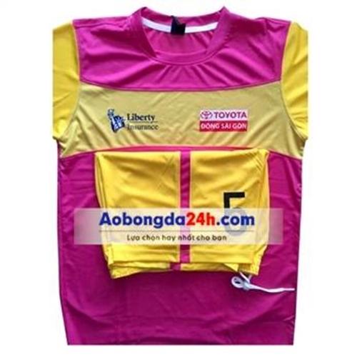 Áo bóng đá tự thiết kế mẫu 6