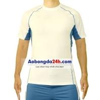 Áo Under Armour không logo trắng