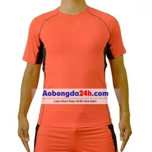 Áo Under Armour không logo màu cam