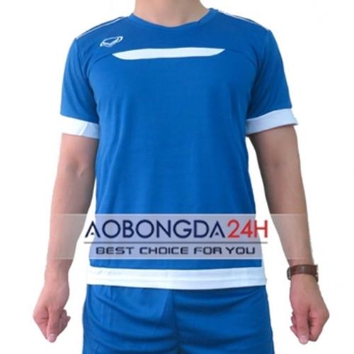Áo Training không logo Việt Nam xanh