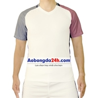 Áo bóng đá không logo Pháp trắng sân khách
