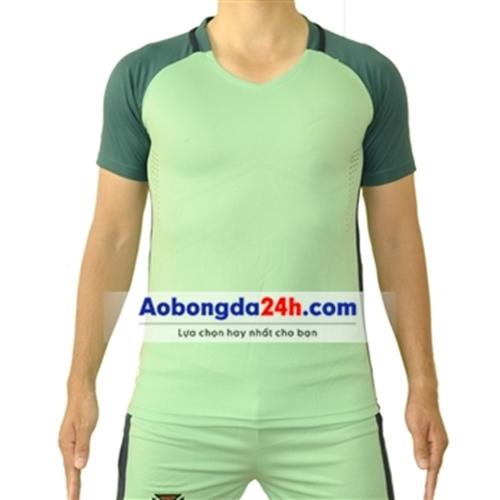 Áo bóng đá không Logo Bồ Đào Nha xanh sân khách